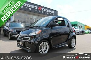 2013 Smart fortwo REDUCED!!! CONVERTIBLE, PASSION, NAVI