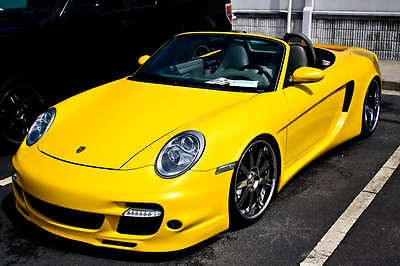 Porsche 987 Boxster GTO Widebody Conversion 2005 to 2012