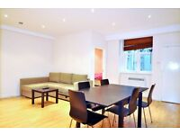 A resplendent double room in a two-double bedroom apartment in Kensington W8