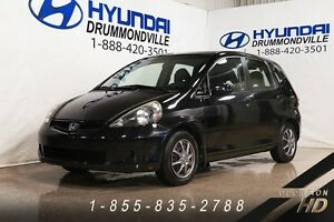 Honda FIT 2008 + LX + AUTOMATIQUE + A/C + CRUISE + HATCHBACK + W
