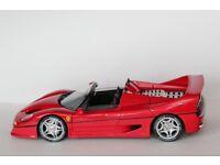 Vintage Japan Import Tamiya Ferrari F50 1/12 Diecast 1:12 Collectors Club ETD