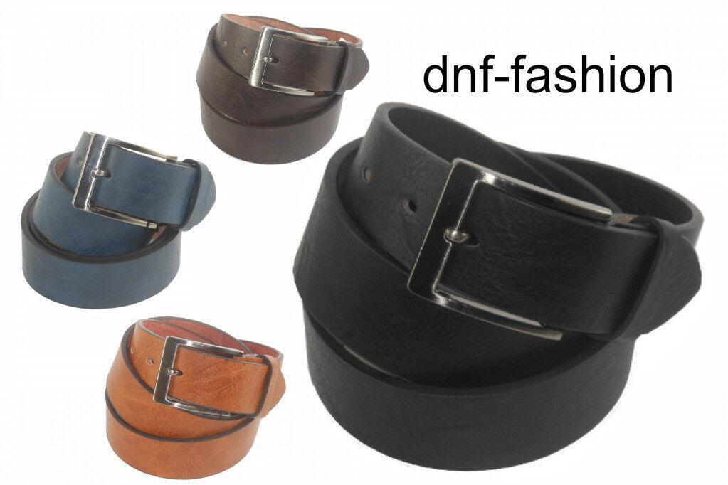 Cintura in pelle cuoio casual artigianale nero uomo donna made in Italy 0820