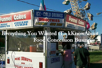 How To Make Money In The Food Concession Trailer Business Bbq Funnel Cakes More