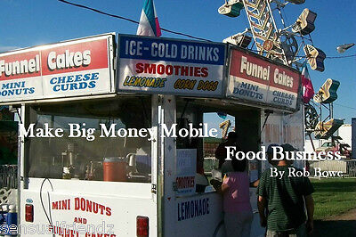 MAKE MONEY FOOD CONCESSION TRAILER HOME BUSINESS  BBQ Guidebook