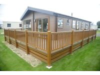 Static caravan and lodge for sale on new development at Tattershall Lakes Country Park Lincolnshire