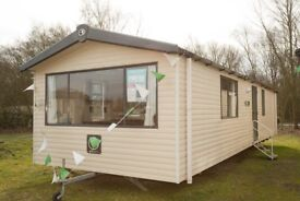 Static caravan for sale at Tattershall Lakes Country Park Lincolnshire near Skegness beach Butlins