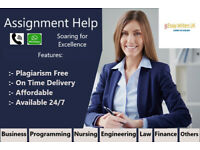 Affordable Help- Assignment/Dissertation/Programming/Essay/Nursing/Engineering/IT/Business/MATLAB