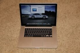 Apple MacBook Pro 15 inch Core i5 2.4 Ghz 8gb Ram 500HD Logic ProX, Adobe CC, Final Cut, Auto Cad