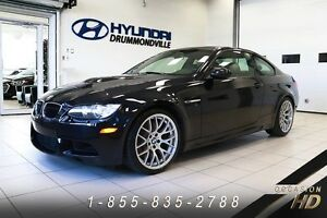 BMW M3 2013 + COUPE + COMPETITION PACK + CANADIEN + TOIT CARBONE