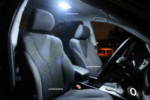 Toyota  Landcruiser Prado 120 White Interior LED Light Upgrade Kit -10 Piece