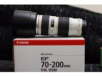 CANON 70-200mm F.4 L USM