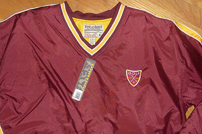 Steve & Barry's Athletic Golf Windbreaker Jacket Boston College Colors Xl