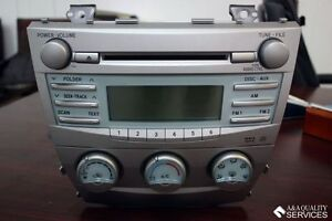 2007 2008 2009 toyota camry radio with cd player and climate control 11851. Black Bedroom Furniture Sets. Home Design Ideas