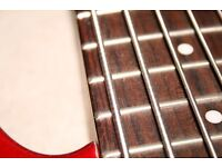 Guitar, bass, ukulele, drumming and music tuition in West Norfolk, Downham Market PE38, PE30, PE13