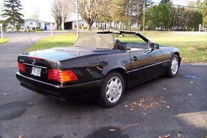 1992 Mercedes-Benz SL-Class cuir Cabriolet West Island Greater Montréal image 5