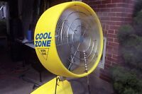 COOLZONE air conditioner/misting fan