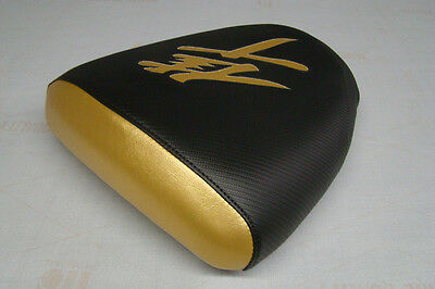 Hayabusa 99/00/01/02/03/04/05/06/07 Gsxr1300 Passanger Seat Cover Black/gold