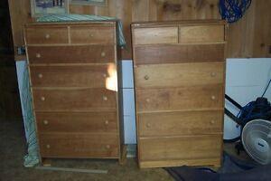 SOLID CHERRY WOOD DRESSERS