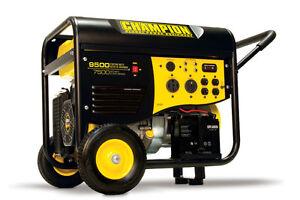 New-Champion-9500-watt-Gas-Portable-Gasoline-Generator-Carb-Electric-Start
