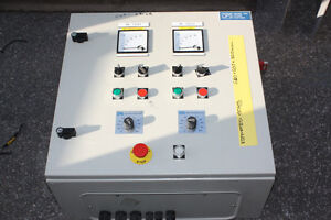 Pump-control-cabinet-600-x-600-x-320mm-2-x-Eurotherm-VSD-4-4KW-vairable-speed
