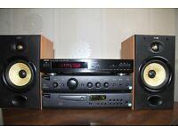Denon TU260L Tuner,Arcam Alpha 1 Amp,Arcam Alpha 7 CD,B&W 601 speakers ,ready to go.