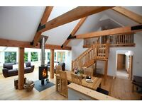 Stunning cottage for 8 with pool & hot tub, Trossachs, Scotland.