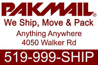 Pakmail Moving & Shipping Services. FREE ESTIMATES