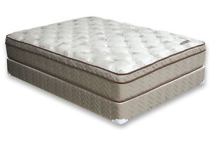 "Luxury Hotel Grade 4"" Pillow Top Queen Size Matt/Box No Tax Kitchener / Waterloo Kitchener Area image 2"