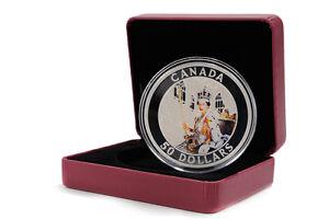 2013 Silver 5 OZ Coin 60th Anniversary of Queen's Coronation!!