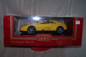 Vintage MINT Diecast Ferrari 348 TS MIRA E/1:18