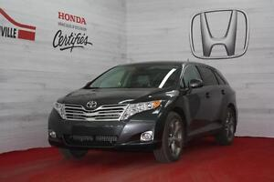 2012 Toyota Venza V-6,CUIR,TOIT PANORA