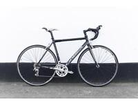 Road bicycle Orbea carbon fork full service ready to go