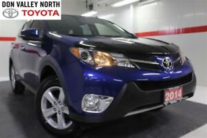 2014 Toyota RAV4 XLE NAVIGATION PKG Heated Seats Sunroof Btooth