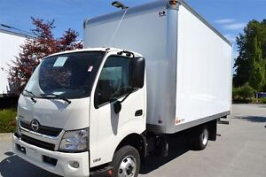 2017 Hino 155 c/w 16' Van and Rear Step. Lease Options Av...