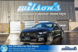 2017 Ford Mustang GT PREMIUM 5.0L V8! LEATHER! NAVIGATION! HEATE