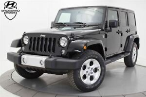 2015 Jeep WRANGLER UNLIMITED Sahara AUTOMATIQUE