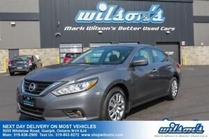 2016 Nissan Altima 2.5 BLUETOOTH! CRUISE CONTROL! POWER PACKAGE!