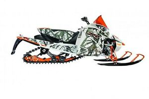 2017 arctic cat ZR 9000 LIMITED 2017 ORANGE/CAMO(129)
