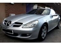 2005 MERCEDES-BENZ SLK 200 1.8 AUTOMATIC KOMPRESSOR ROADSTER CONVERTIBLE