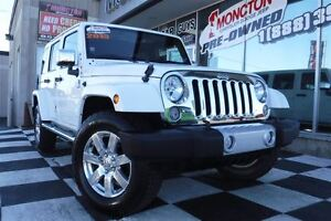 2015 Jeep WRANGLER UNLIMITED Sahara | 4x4 | Nav | Leather |
