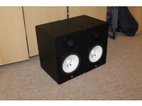 2x Yamaha Hs80M Speaker Monitors