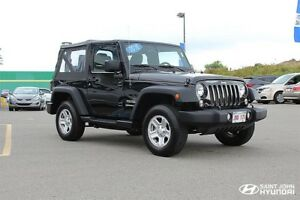 2016 Jeep Wrangler Sport! 4X4! 6 SPEED! $171 BI-WEEKLY!