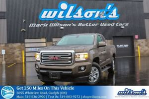 2016 GMC Canyon 4WD SLE EXTENDED CAB! RUNNING BOARDS! BED LINER!