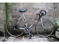 RALEIGH THE WINNER, vintage racer racing road bike, 23.5 inch, 10 speed
