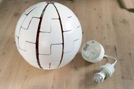 IKEA PS 2014 Pendant Lamp 35cm - White/Orange
