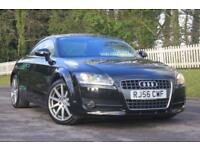 AUDI TT 2.0 TFSI 3d 200 BHP RAC WARRANTY + BREAKDOWN COVER!! (black) 2006