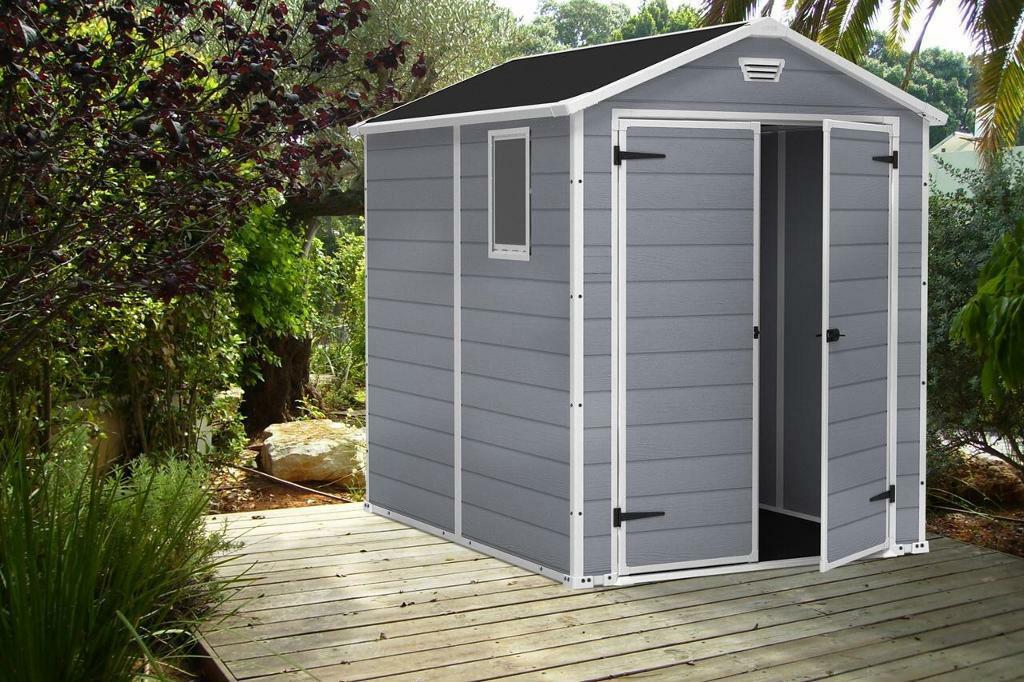 MANOR 6X8DD OUTDOOR GARDEN SHED