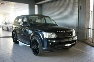 2011 Land Rover Range Rover MY11 Sport 3.0 TDV6 Black 6 Speed Automatic Wagon Thornleigh Hornsby Area Preview