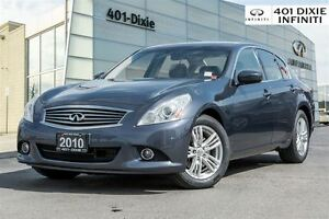 2010 Infiniti G37 AWD, Navigation & Tech Pkg! Intelligent Cruise