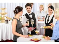 Waiting Staff for Prestigious Events